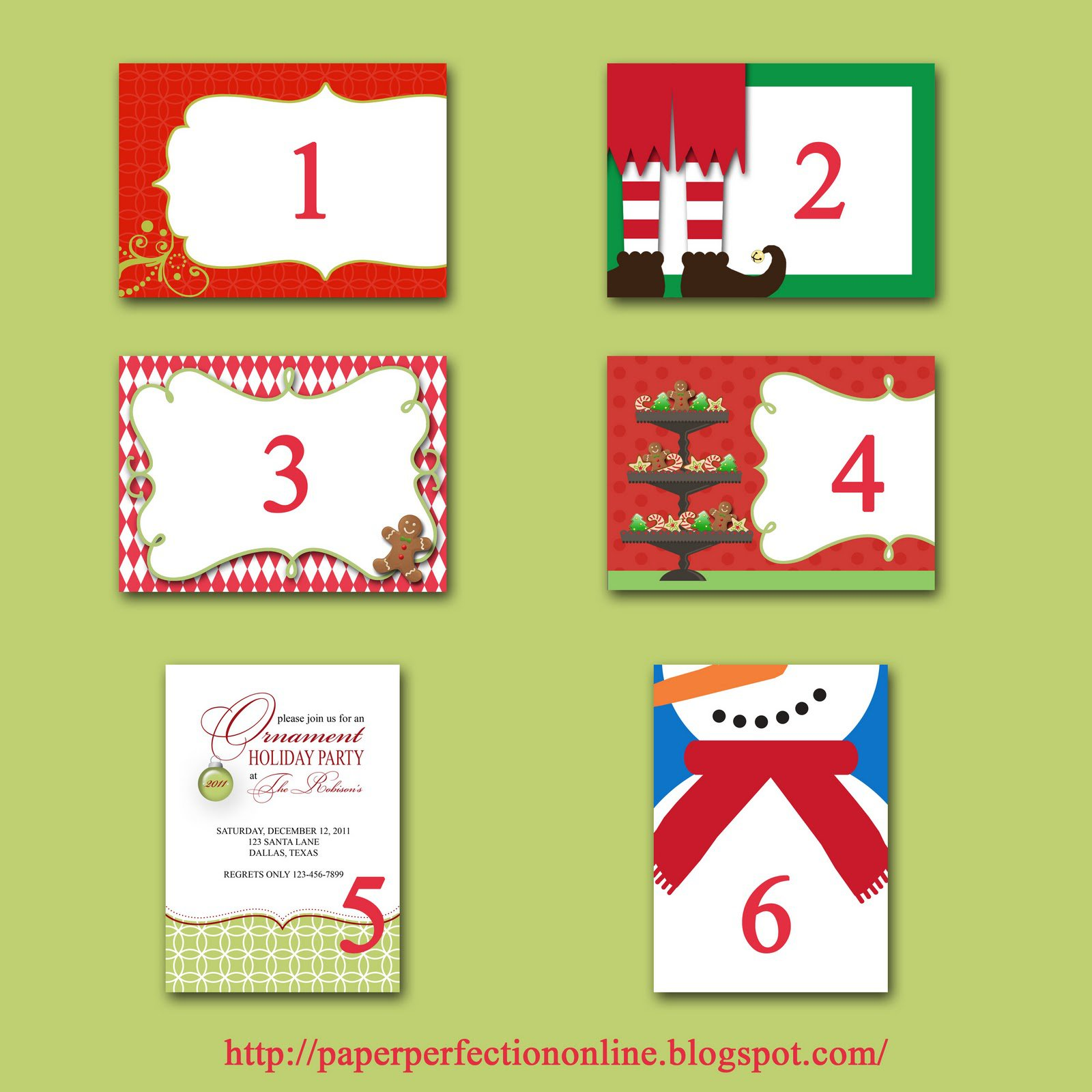 Examples Of Company Christmas Party Invitations