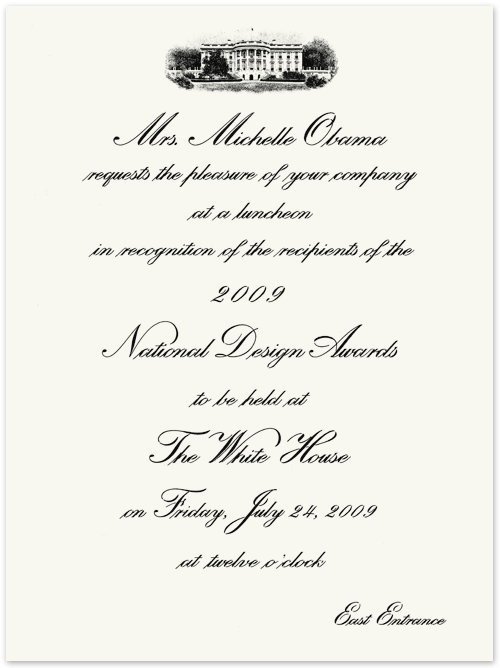Examples Of Formal Invitations To Events