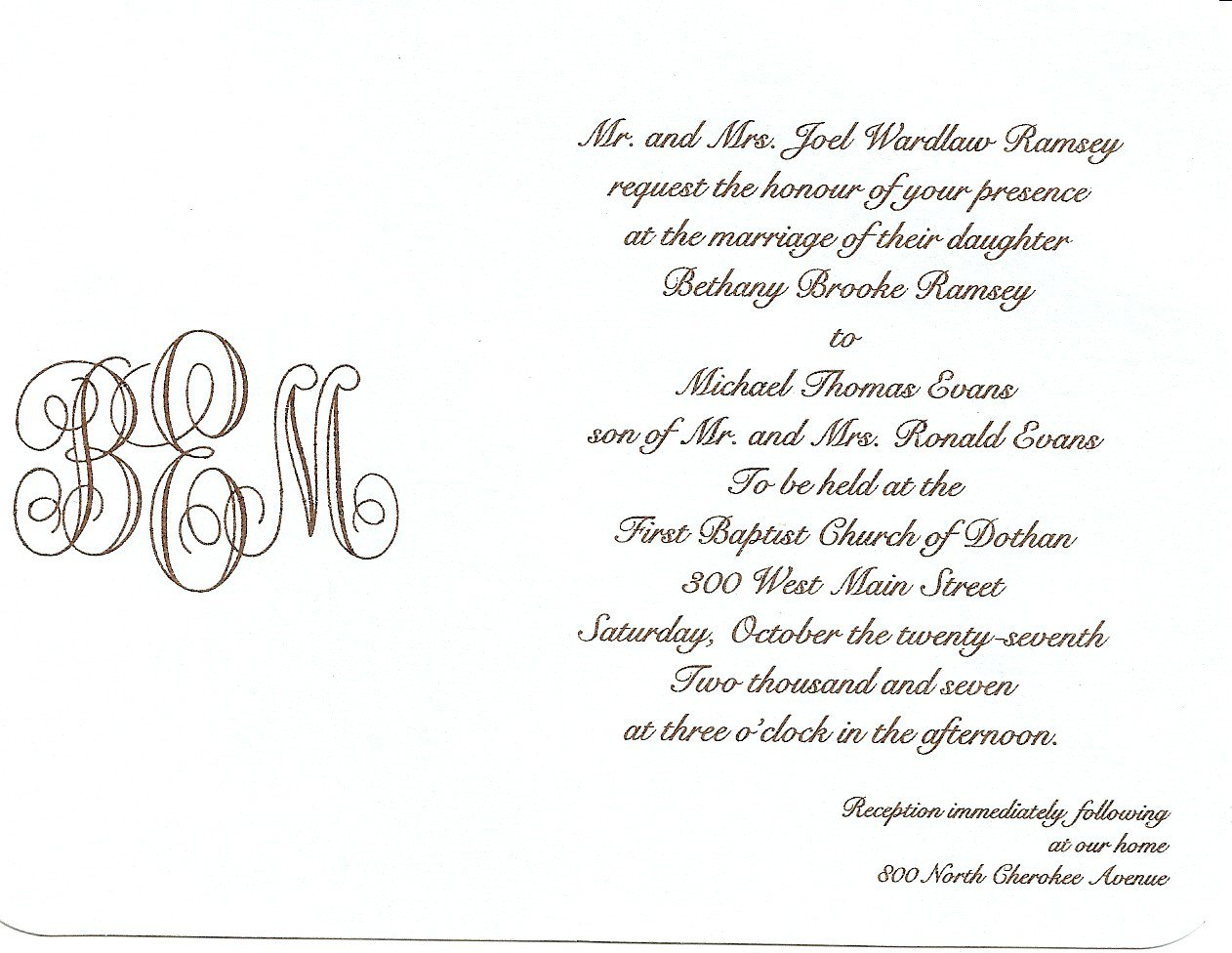 Examples Of Informal Invitation Letters