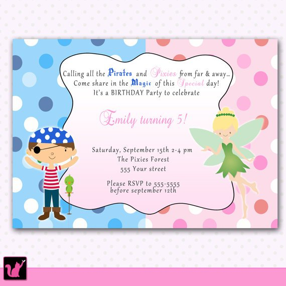 Fairy Party Invitation Wording