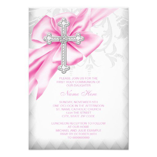 First Communion Invitations Free