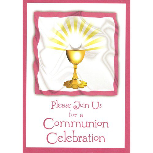 First Holy Communion Party Invitations