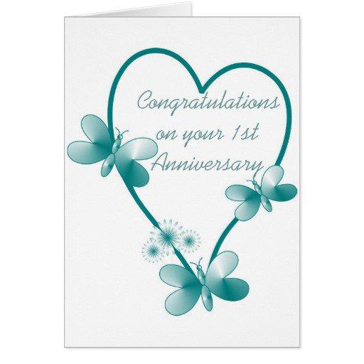 St wedding anniversary invitations templates