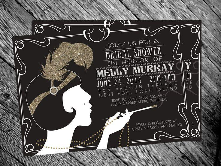 Flapper Invitations Ideas