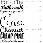 Font Types For Wedding Invitations