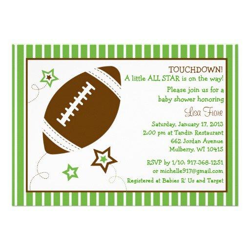 Football Invitations Free