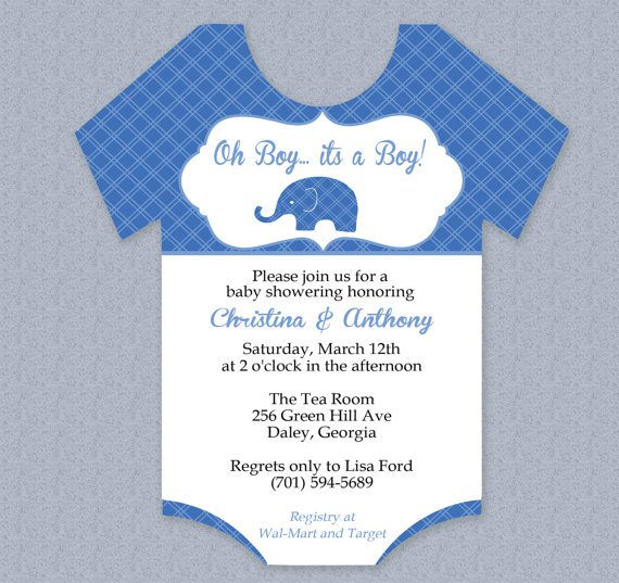 For Baby Shower Invitation Templates Word