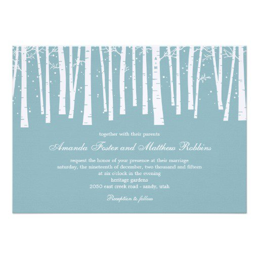 Forest Wedding Invitations Uk