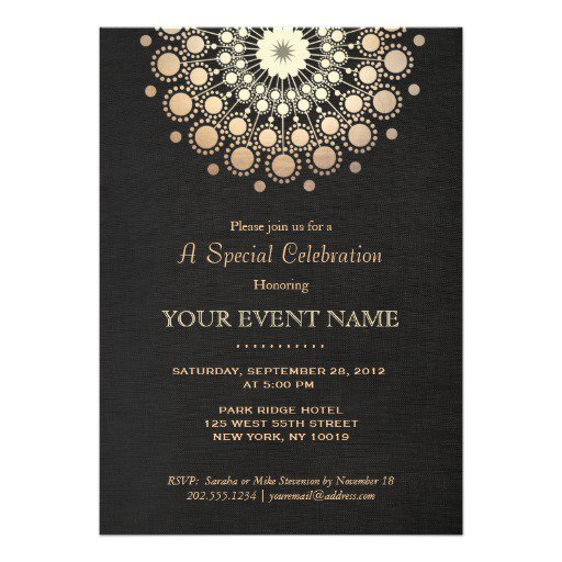 Formal Event Invitation Wording