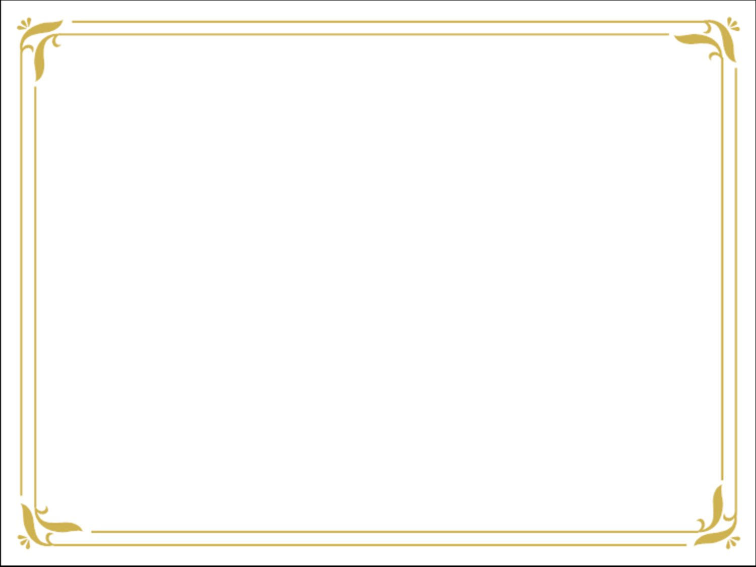 Formal Invitation Borders