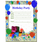 Free Birthday Invitations Printable For Adults