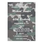Free Camouflage Invitation Template