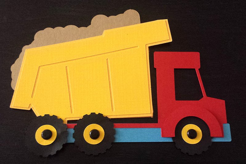Dump Truck Invitation Templates