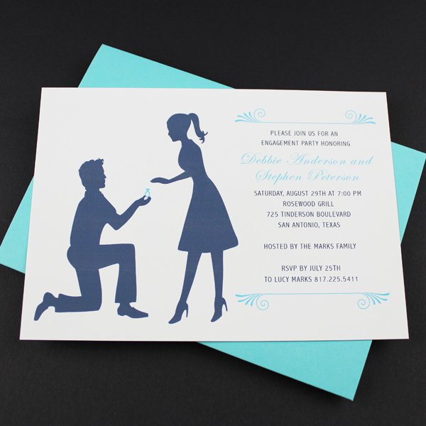 Free Engagement Invitation Templates Printable