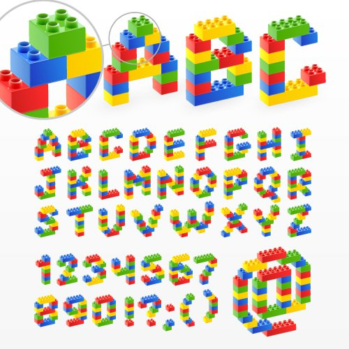 Free Lego Printable Letters