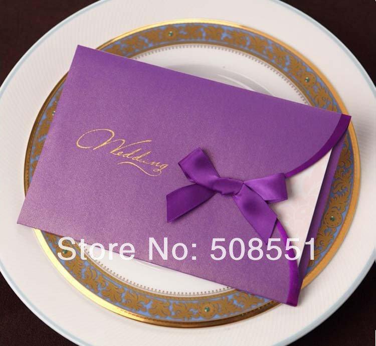 Free Lilac Wedding Invitation Templates
