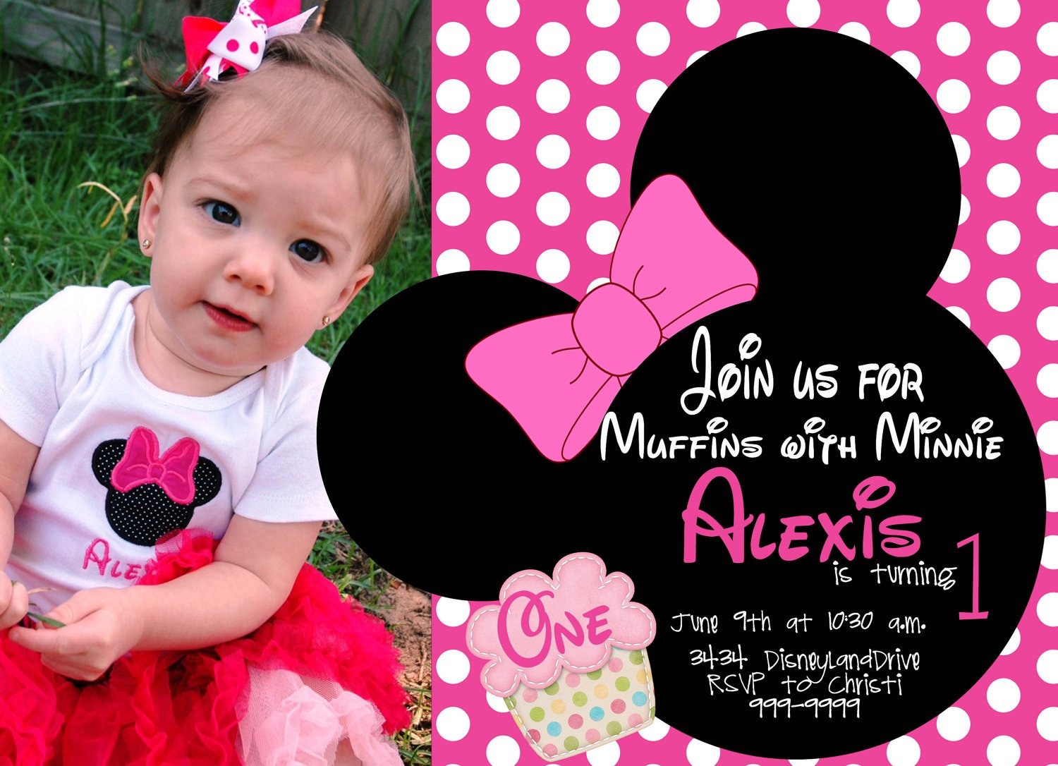 Free Minnie Mouse Birthday Party Templates
