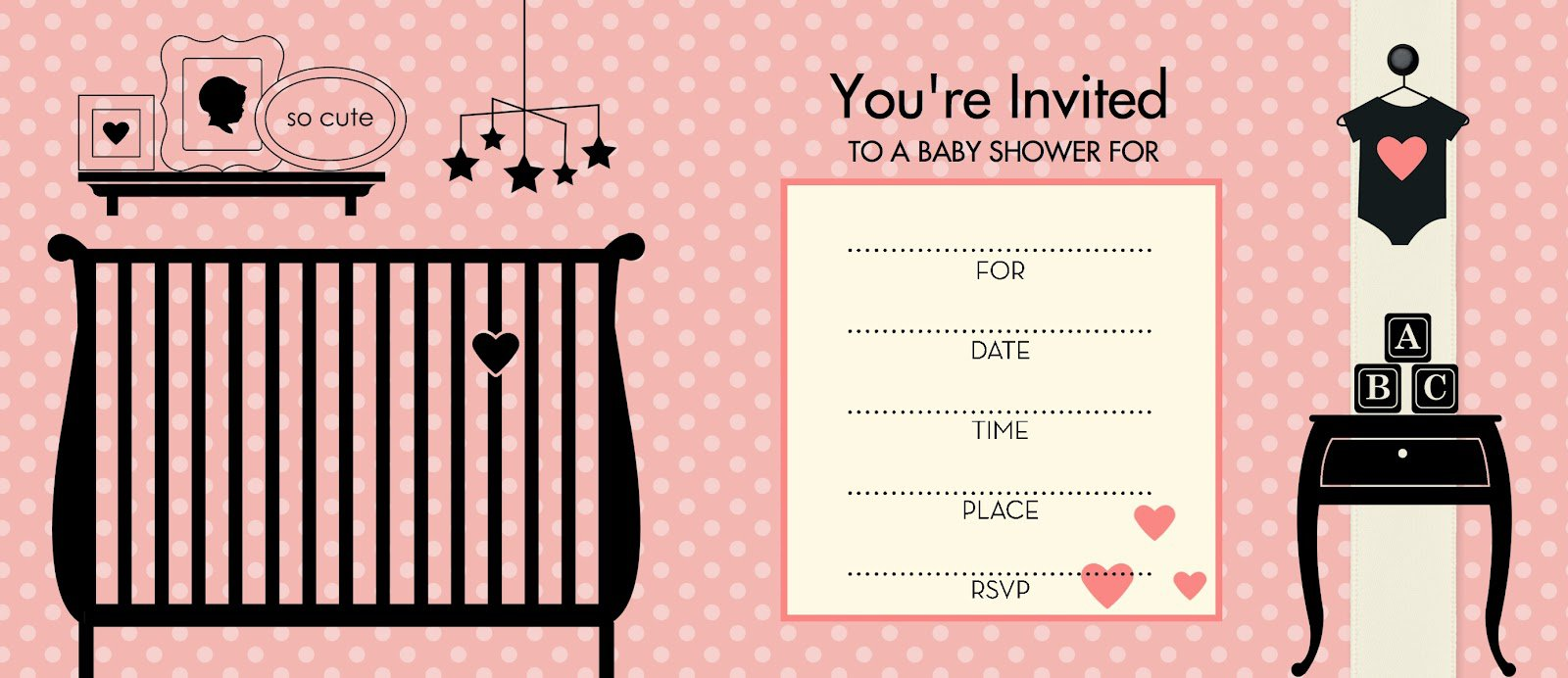 Free Printable Baby Shower Invitations Boy Girl