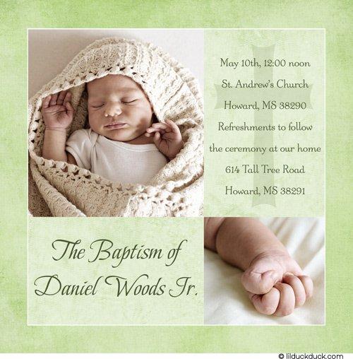 Free Printable Baptism & Christening Invitation