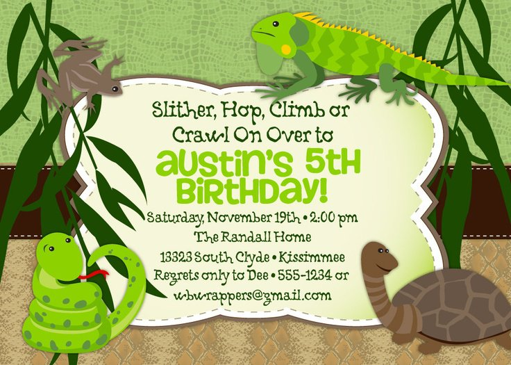 Free Printable Boys Birthday Invitation