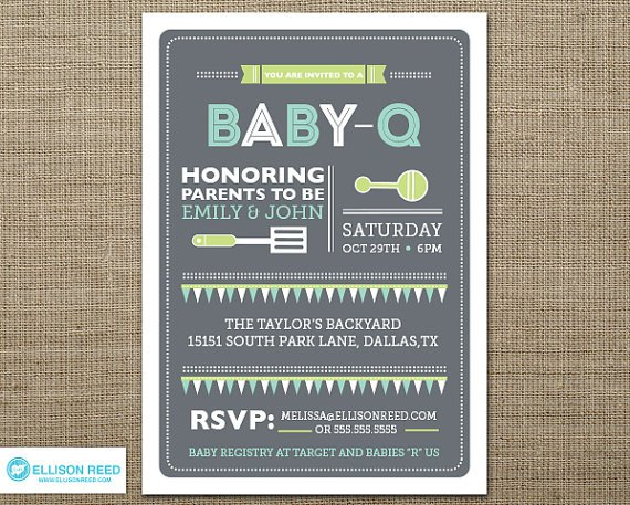 Free Printable Coed Baby Shower Invitations