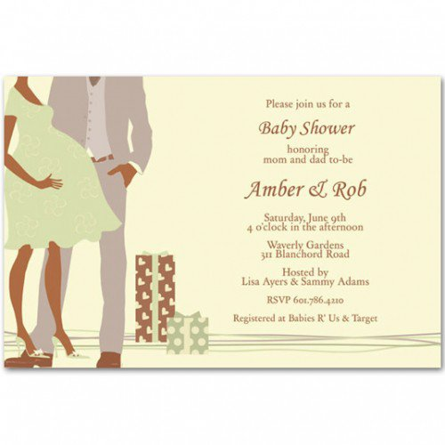 Free Printable Couples Baby Shower Invitations