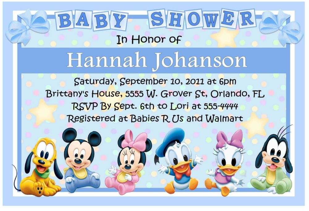 Princess Baby Shower Invitations Printable