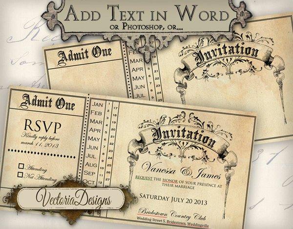 Free Printable Editable Invitations