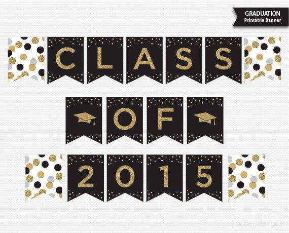 Free Printable Graduation Banners 2015