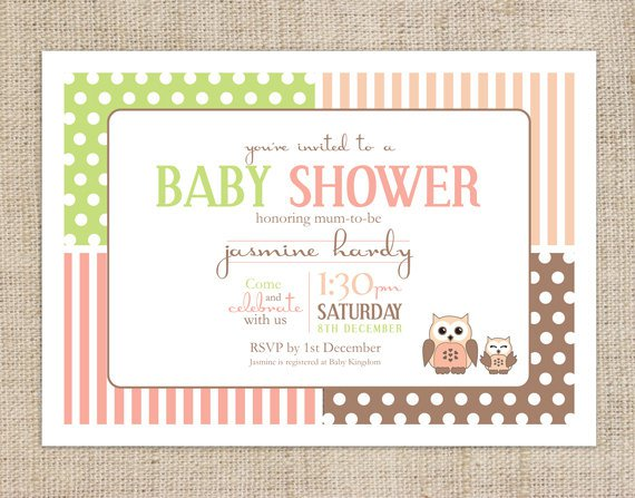 Free Printable Baby Shower Invitations Templates – Free Downloadable Baby Shower Invitations Templates