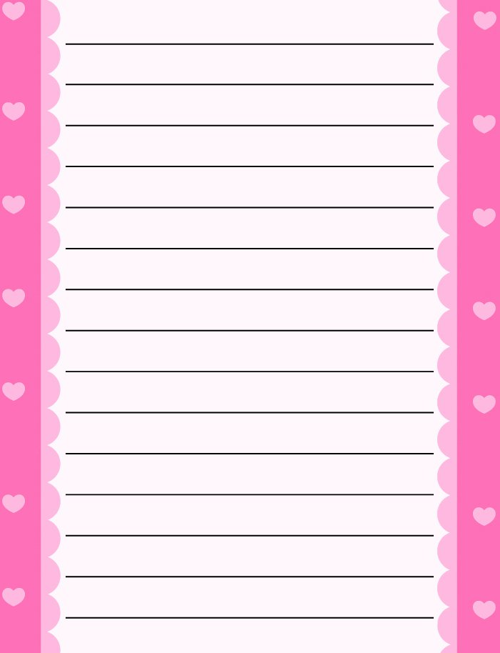 Free Printable Paper Borders For Writing Paper