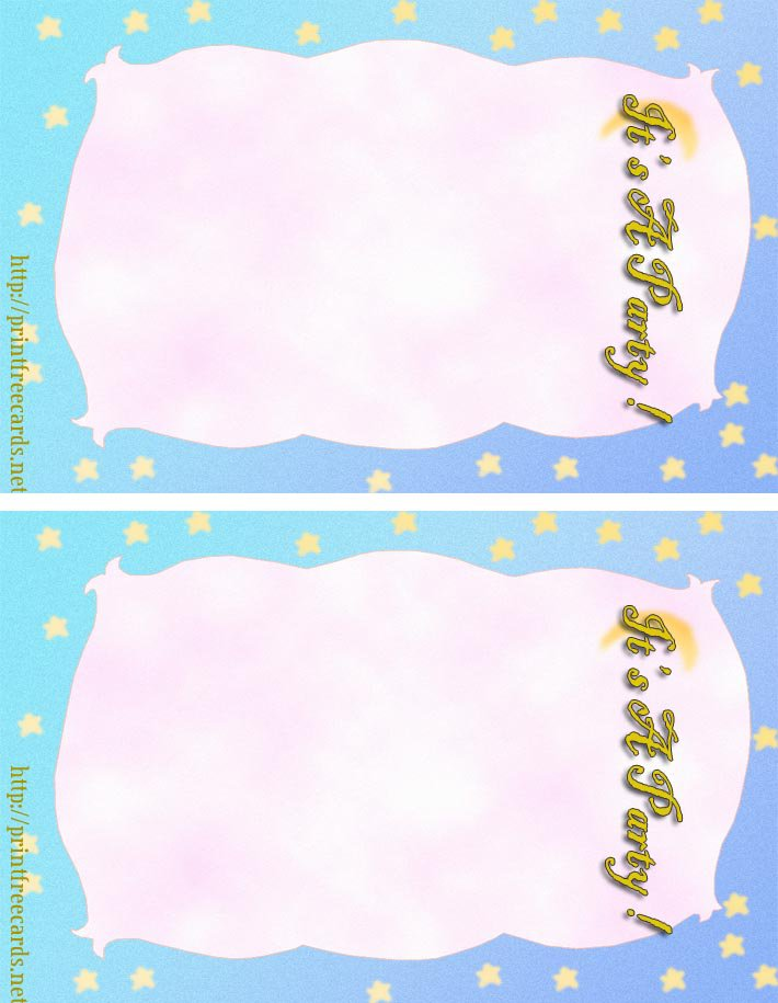 Free Printable Summer Party Invitations Templates