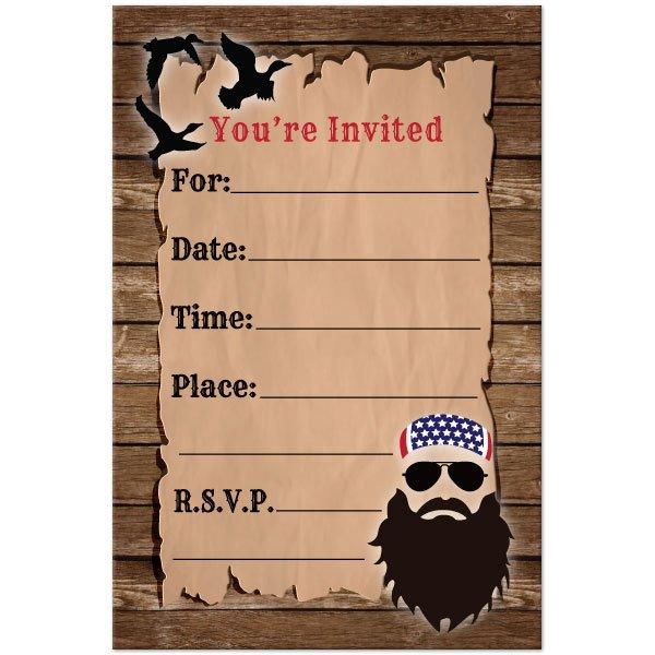 Free Redneck Birthday Party Invitations