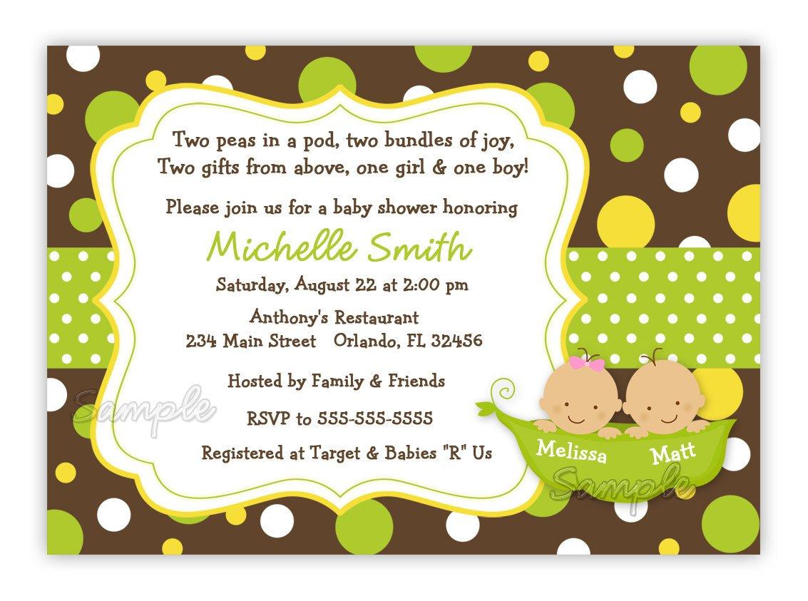 Free Sweet Pea Baby Shower Invitations