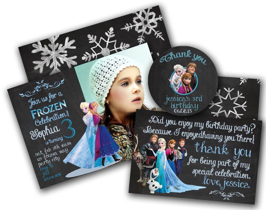 Frozen Birthday Party Invitation Sayings