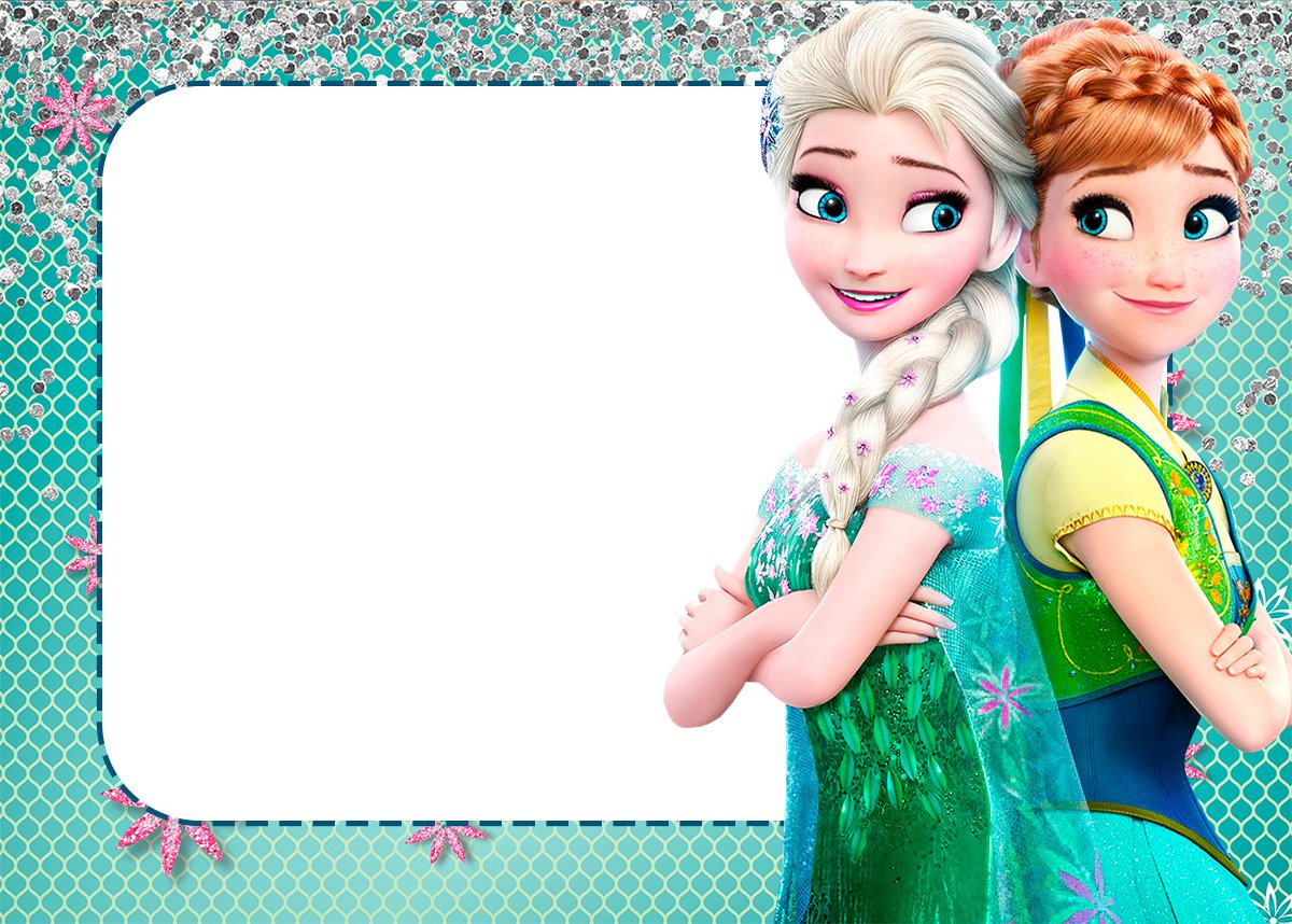 Frozen Invitation Cards Printable
