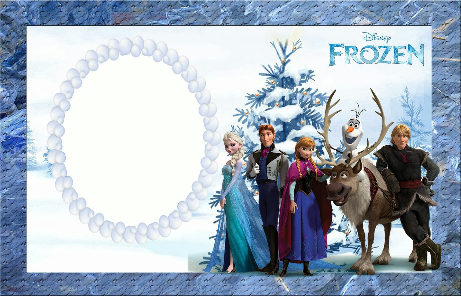 Frozen Party Invitations Templates