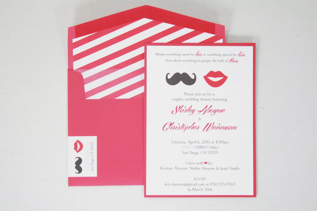 Fun Bridal Shower Invitations