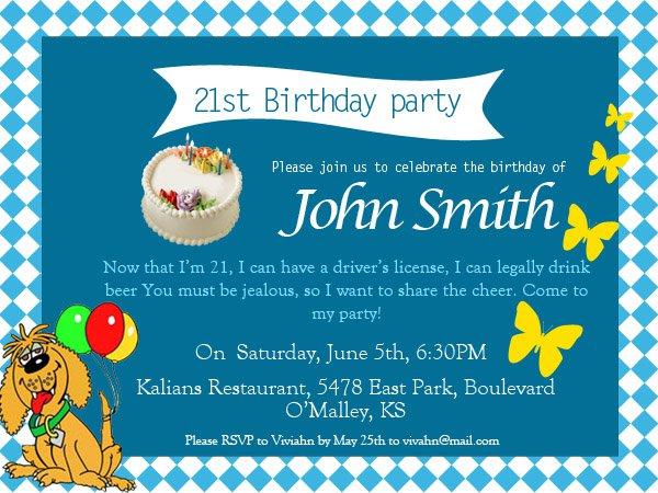 Fun Party Invitation Wording