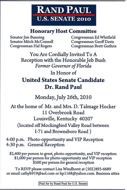 Fundraiser Invitation Copy