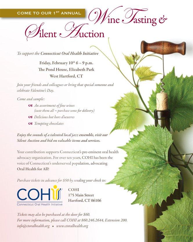 Fundraiser Invitation Wording Silent Auction