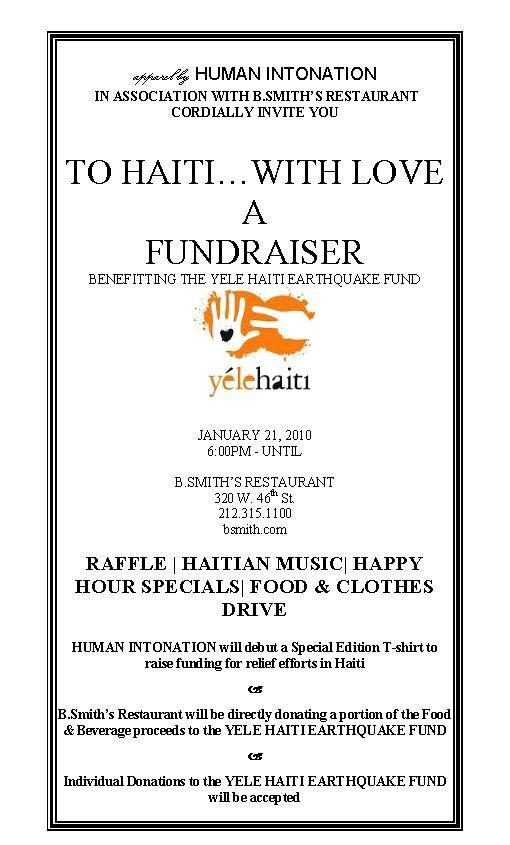 Fundraising Banquet Invitations