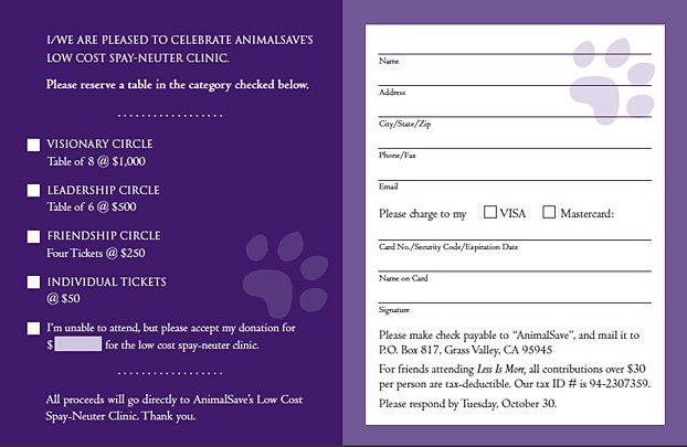 Fundraising Event Invitation Samples