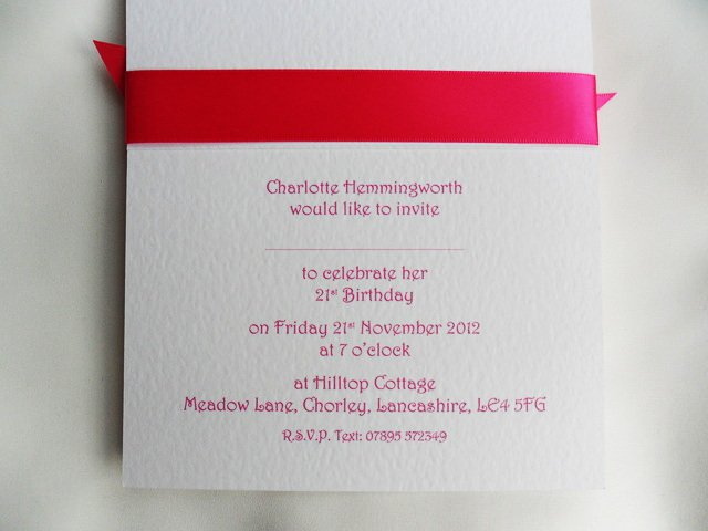 Funny 21st Birthday Invitation Wording Samples