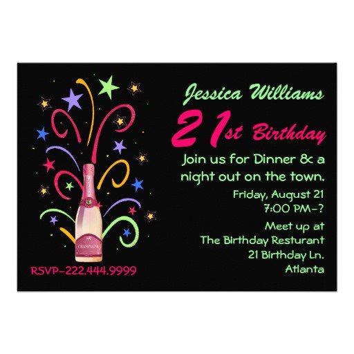 Funny 21st Birthday Invitations Wording