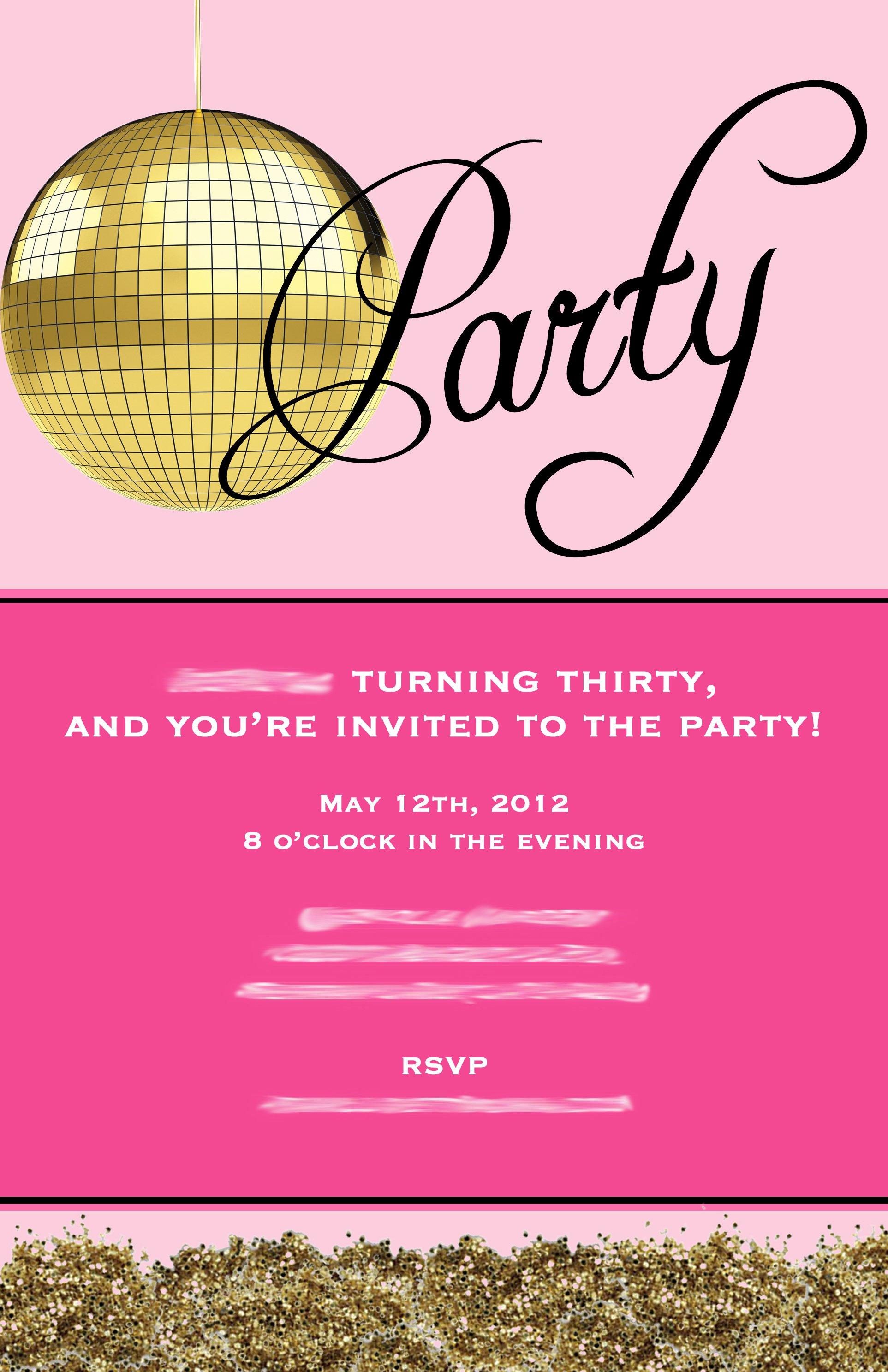 Funny 30th Surprise Birthday Invitation Wording