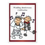 Funny Wedding Anniversary Invitations