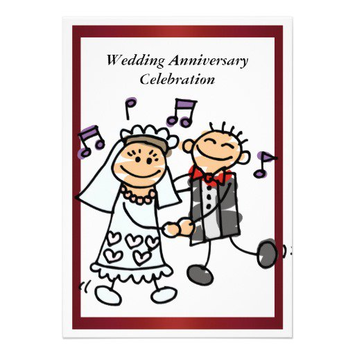 Funny 50th Wedding Anniversary Invitations