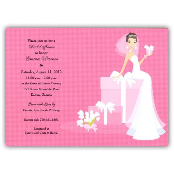 Funny Bridal Shower Invitations Wording
