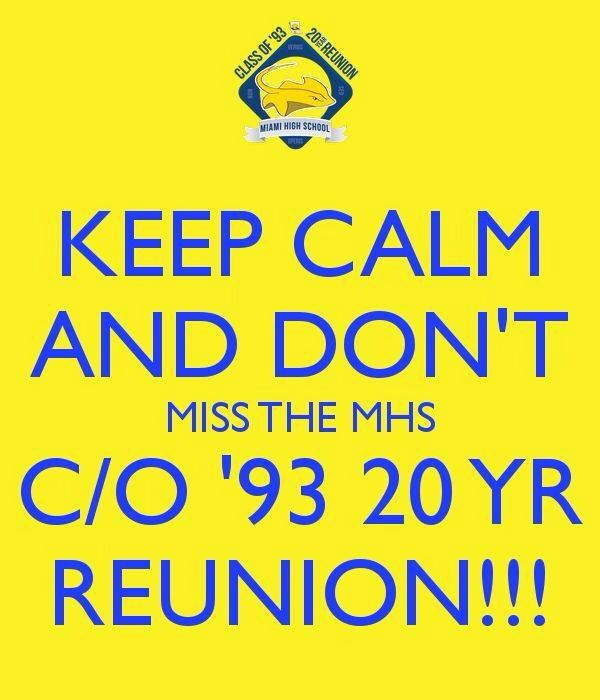 Funny Class Reunion Announcements